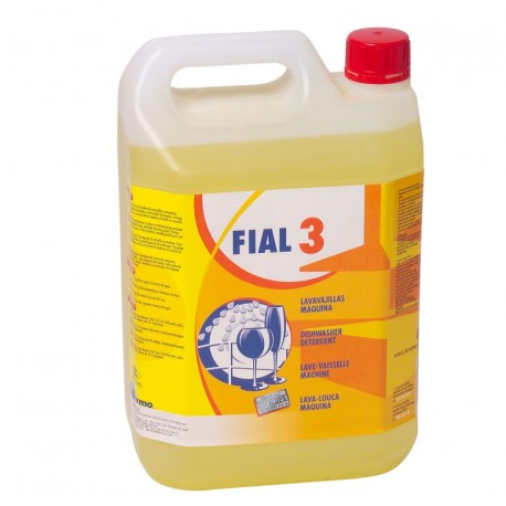Fial 3. Hard water dishwasher detergent