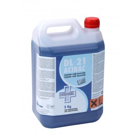 DL 21 Acibac. Limpiador ácido bactericida