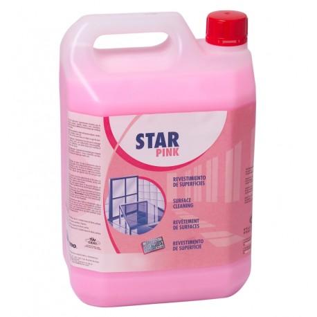 Star Pink. Revêtement de surfaces