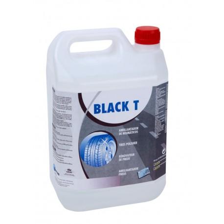 Black T. Abrillantador neumáticos