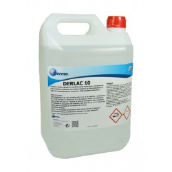 Derlac 10. Détergent alcalin chloré