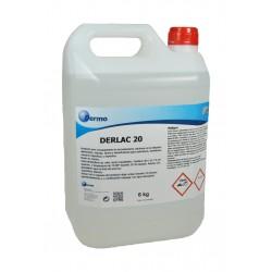 Derlac 20. Limpiador ácido industria alimentaria