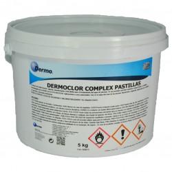 Dermoclor Complex Pastillas. Tricomponente para piscinas