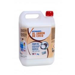 Detergente al Jabón de Coco.  Detergente líquido