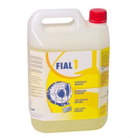 Fial 1. Soft water dishwasher detergent