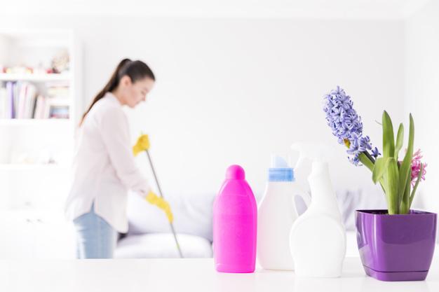 Sala blanca productos de higiene
